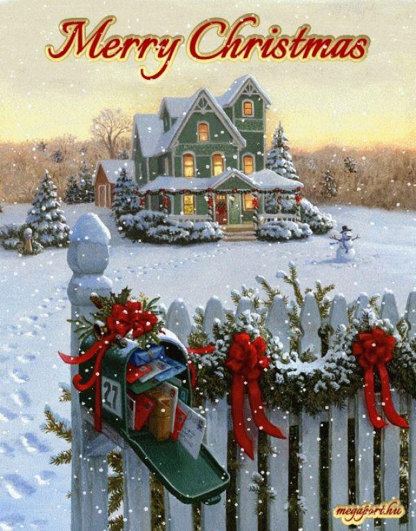 Merry Christmas Animated Pics : merry, christmas, animated, Merry, Christmas, (animated, ECard), Images,, Scenes,