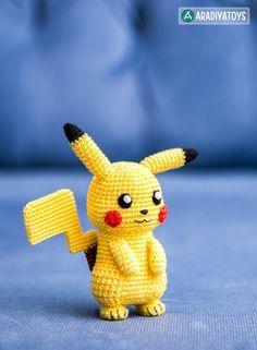 Pokemon amigurumi | Etsy | 321x236
