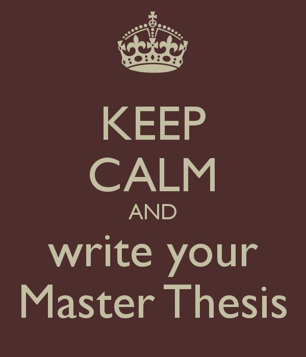 Master thesis lyrics