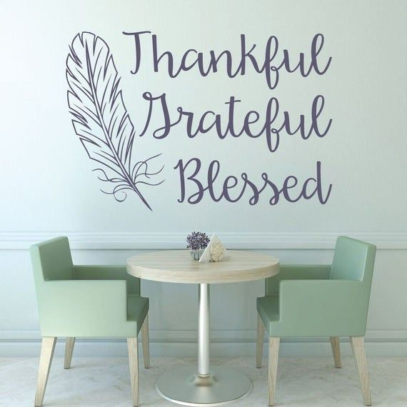 Thanksgiving Decorations - Thankful Grateful Blessed With Feather - Gratitude, Holiday Decor for Hom ,  #Blessed #Decor #Decorations #Feather #Grateful #Gratitude #Holiday #Hom #thankful #Thanksgiving #thanksgivingdecorationspaper