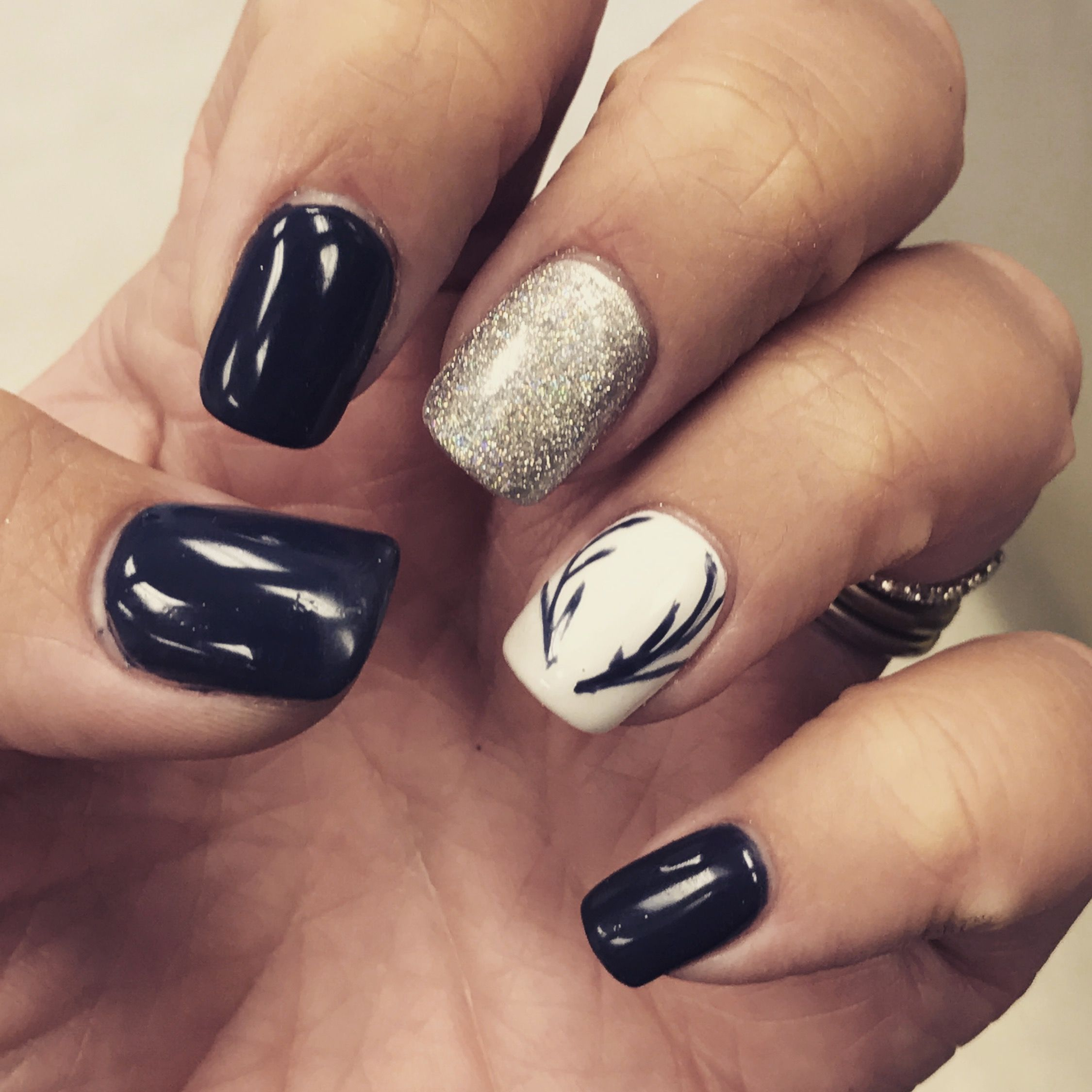 Pin by Melissa Meyers on nails | Pinterest | Winter nail colors ...