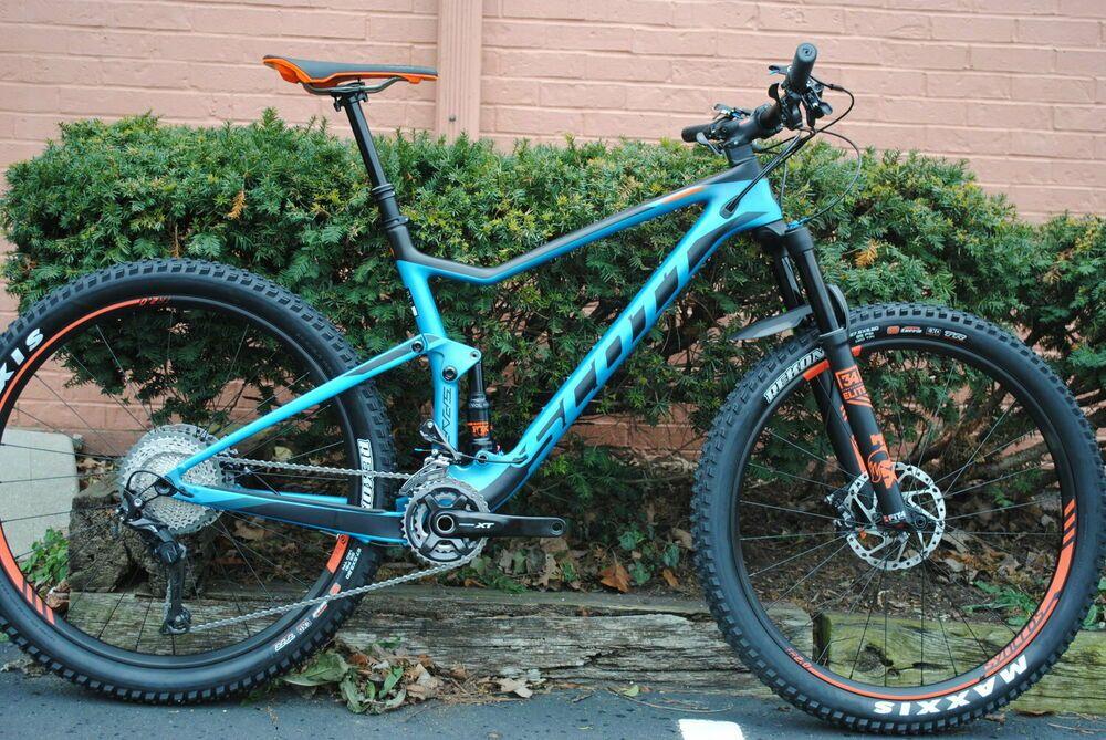 5ecac454912 2018 SCOTT SPARK 710 Carbon Full Suspension Mountain Bike MSRP $4899 ...