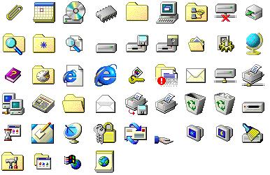 Windows 95 Icons Windows 95 Microsoft Icons Computer Icon