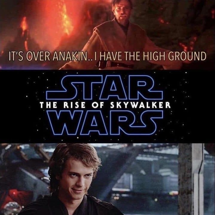 Pin By Himiko Toga On Star Wars With Images Funny Star Wars Memes Star Wars Quotes Star Wars Humor