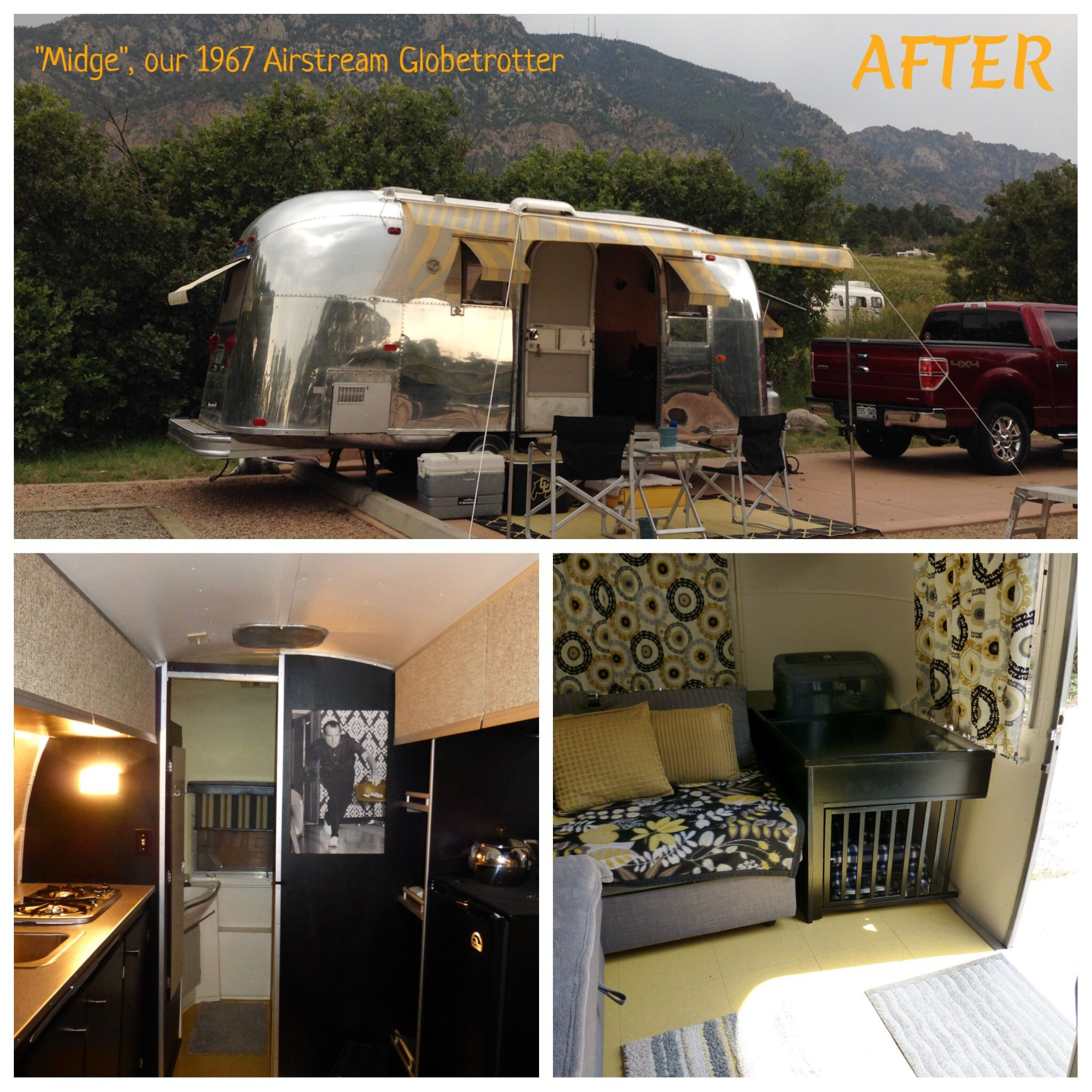 Check out the vintage camper and trailer hobby mid century modern trailer trash