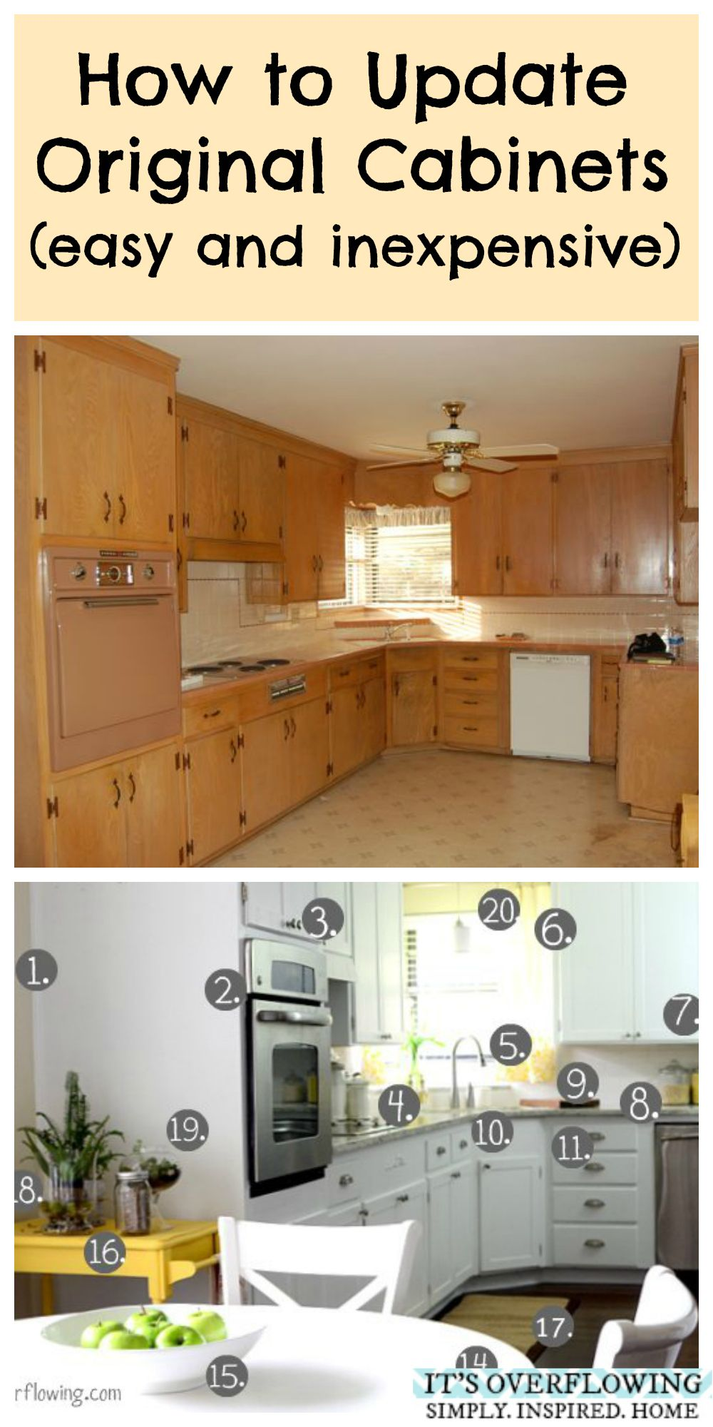 How To Update Original Cabinets Easy And Inexpensive For When I Best Average Cost To Replace Kitchen Cabinets Design Inspiration