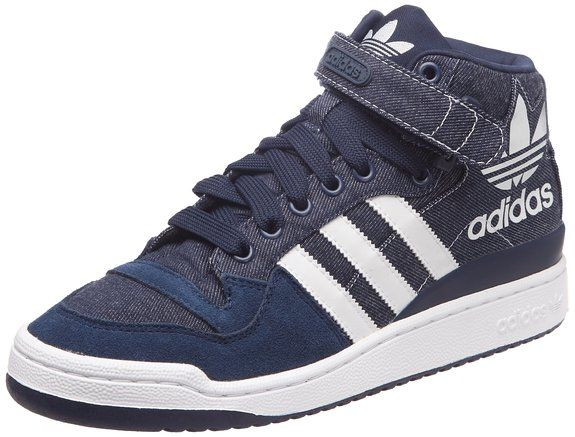 Adidas Originals Forum Mid RS XL Blue Denim White Casual