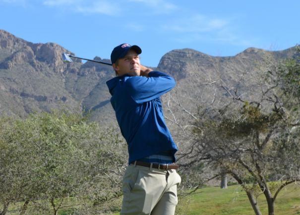 Martin Leth Simonsen er kommet godt fra start i sin kamp for en plads på Web.com Tour