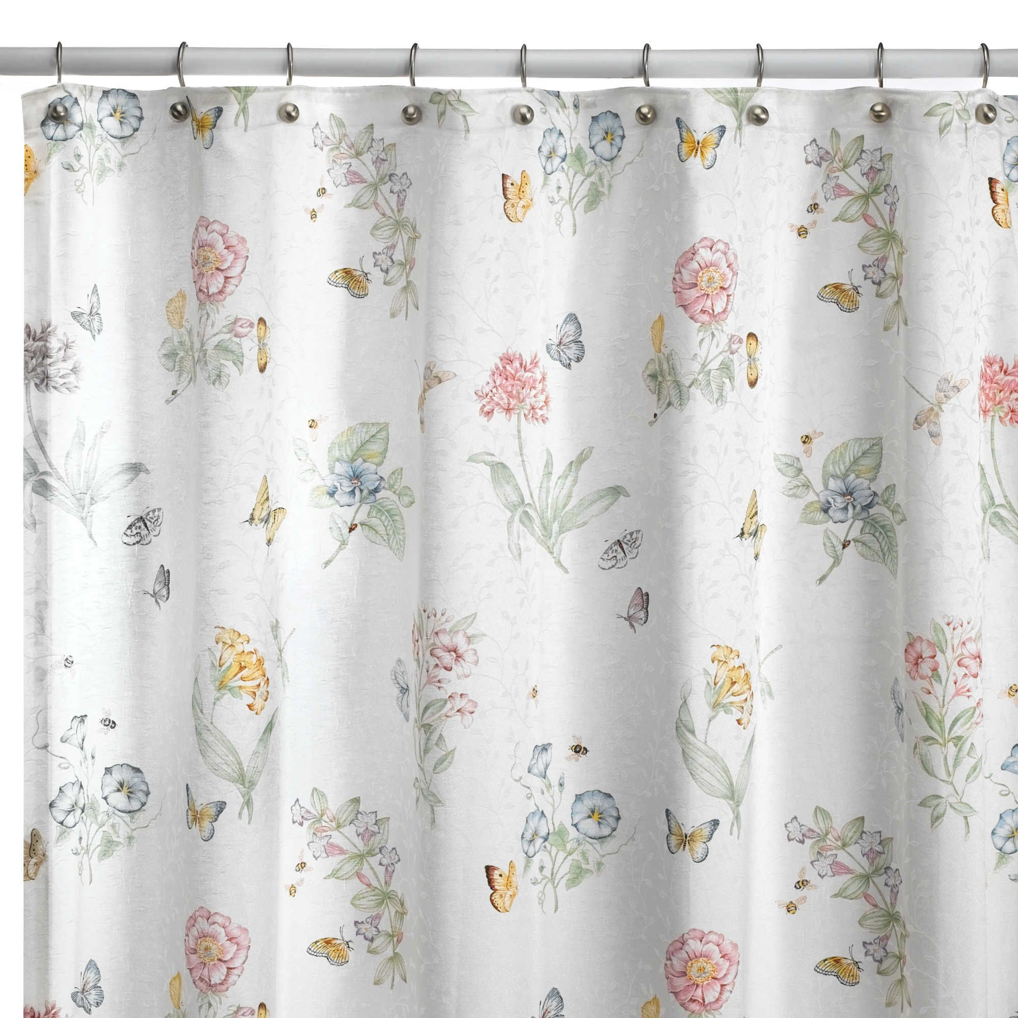 Delightful Buy Lenox® Butterfly Meadow® X Fabric Shower Curtain From At Bed Bath U0026  Beyond. Inspired By The Popular Lenox® Butterfly Meadow Dinnerware, ...