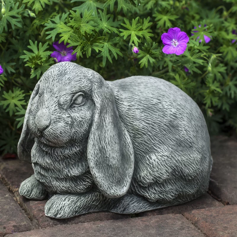 Lop Eared Bunny Statue Garden Statues Lop Eared Bunny