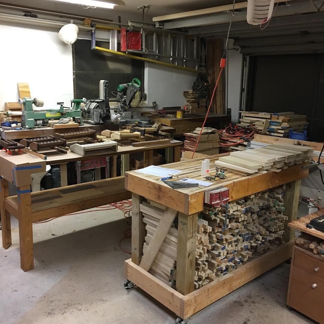 How To Make Easy Money With Your Wood Crafts Workshop LayoutGarage WorkshopWorkshop IdeasWoodworking