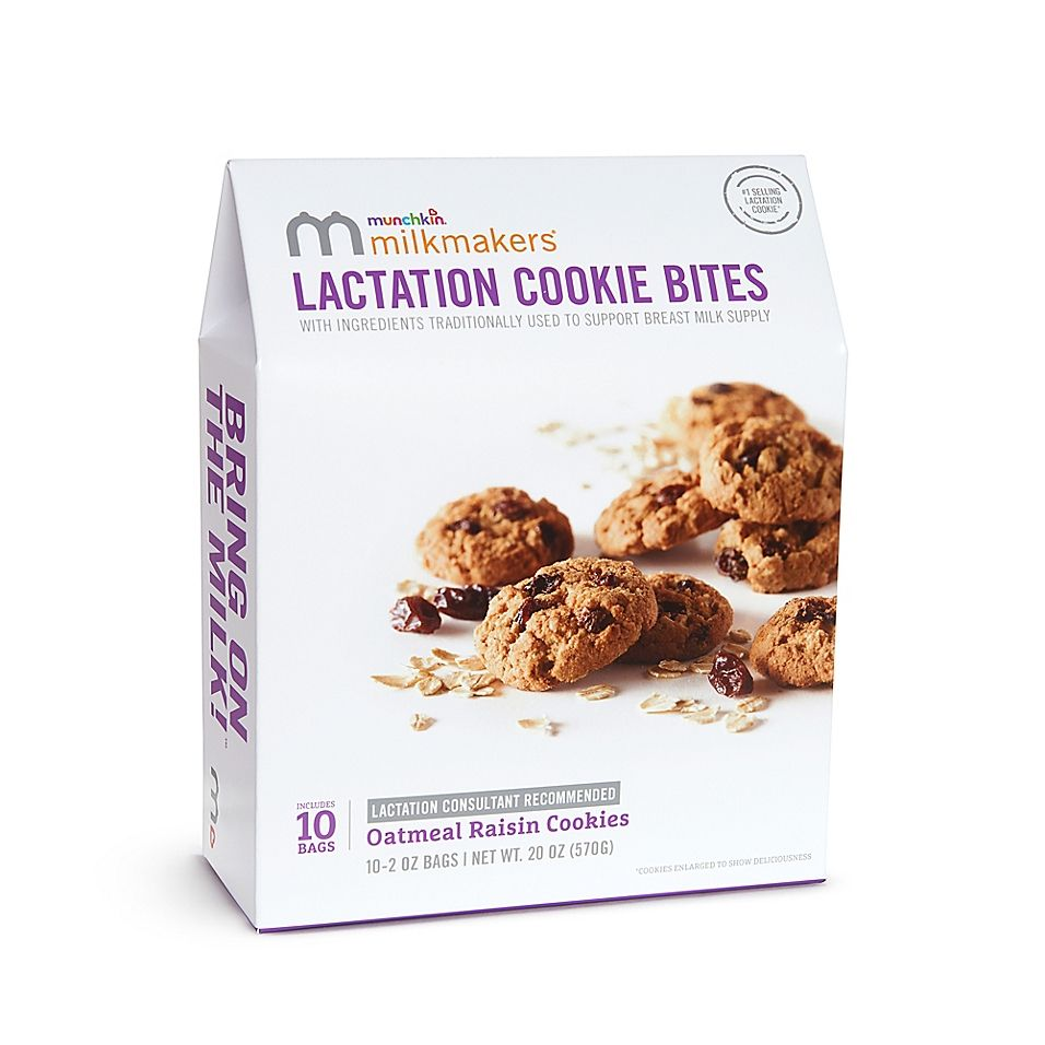 Milkmakers® 10-Count Oatmeal Raisin Lactation Cookies
