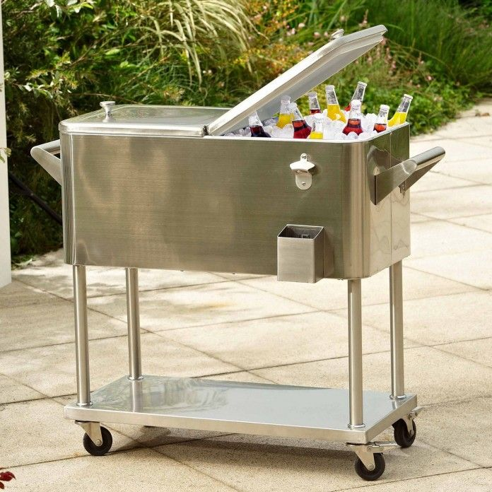 Perfect Patio Beverage Cooler