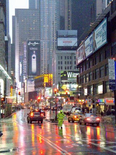 Raining Day Nyc New York City Dream City New York