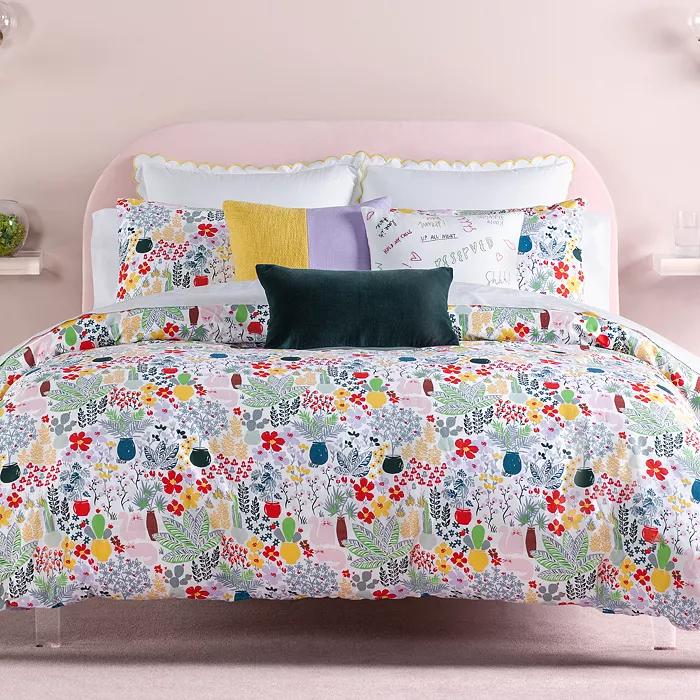 Kate Spade New York Cat In The Garden Bedding Collection Duvet Cover Sets King Comforter Sets Comforter Sets