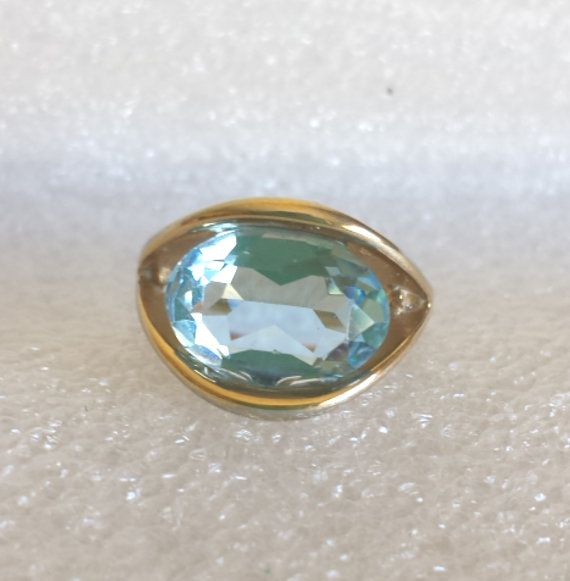 14ce9a58b8d90 beautiful vintage 14kt GE ESPO gold ring / light by jewelry4ero ...