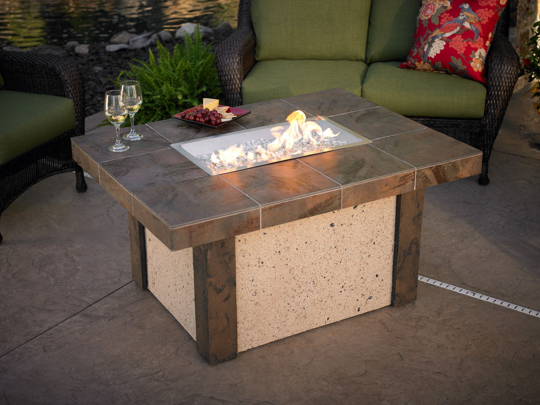 Fire Pit Table Combo And Clearance