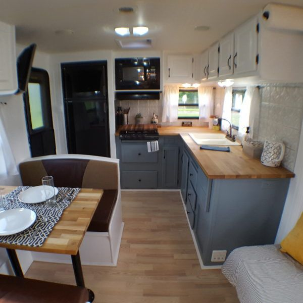 travel trailer tiny house - Tiny House Trailer Interior