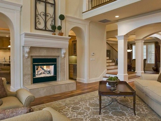 Transform your Spacious Space with a Double-Sided Fireplace For