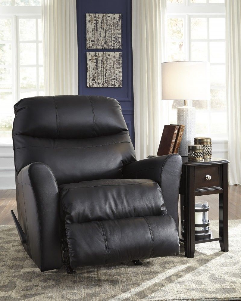 Browse and compare living room recliners products at carolina furniture liquidators pranav black rocker recliner