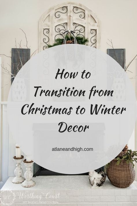 Photo of 5 Tips to Transition Your Home from Christmas to Winter Decor