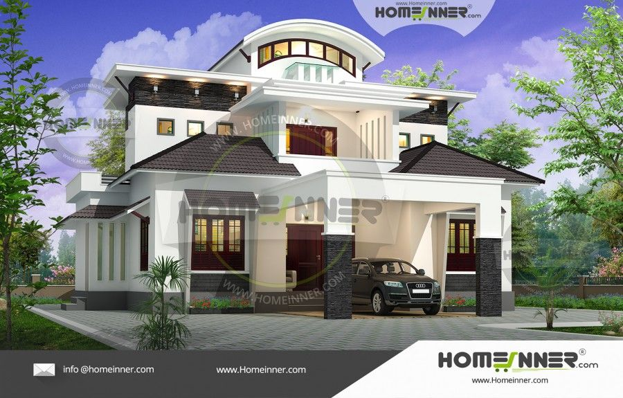 HIND2008 Beautiful house plans, 2000 sq ft house, House