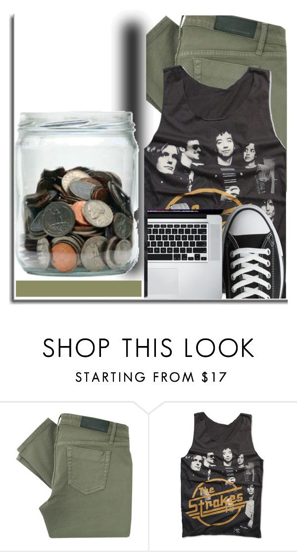 """""""Sem título #613"""" by elaine-ao-souza ❤ liked on Polyvore featuring Victoria Beckham, Rock Revival and Converse"""