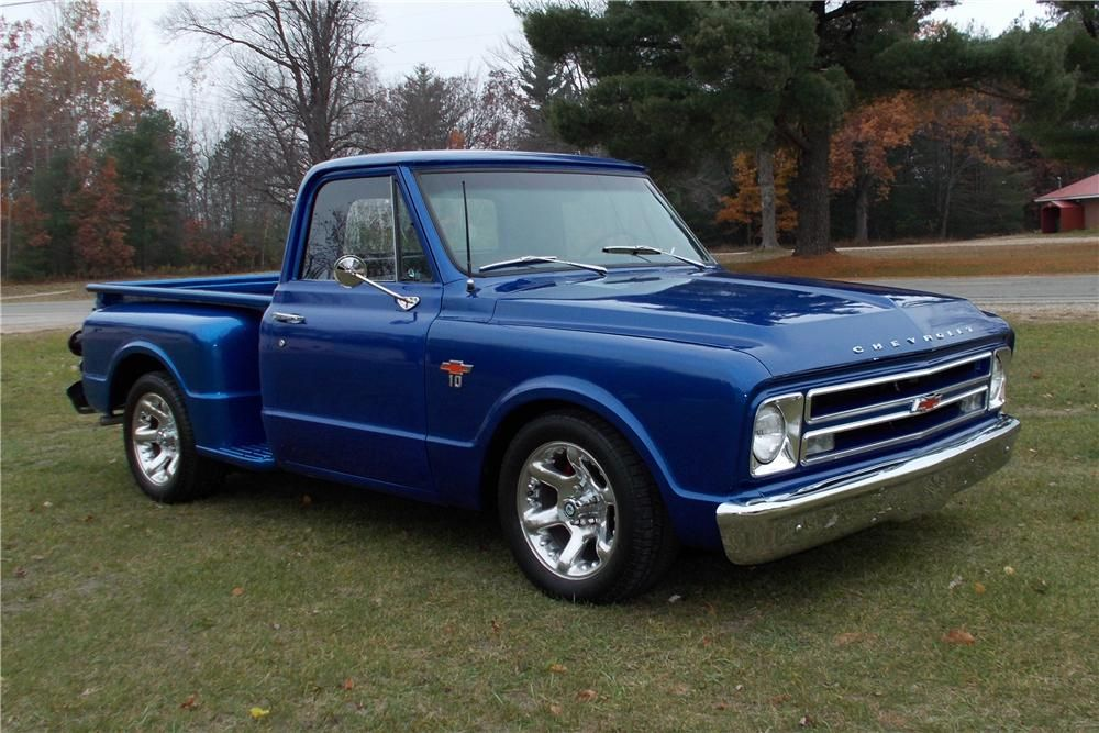 Love This Car 1967 Chevrolet Truck With Additional Much Improved
