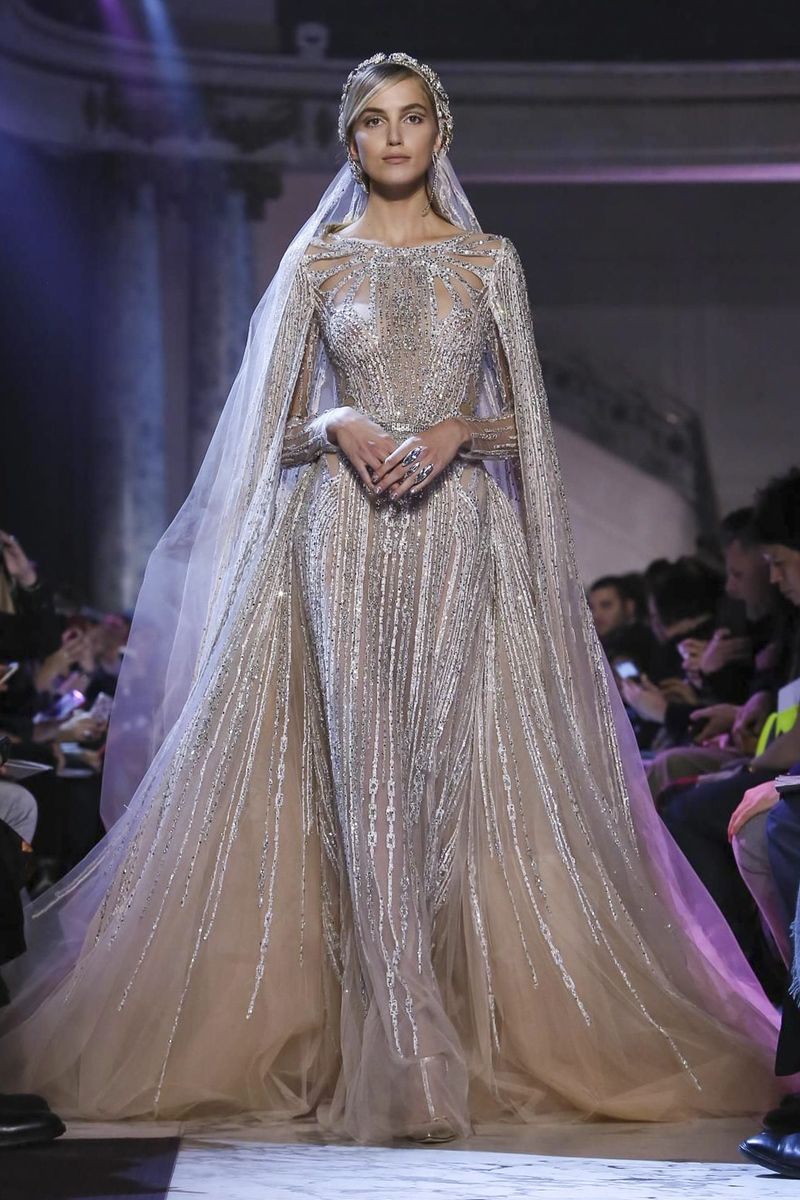 Elie saab fashion show couture collection spring summer in