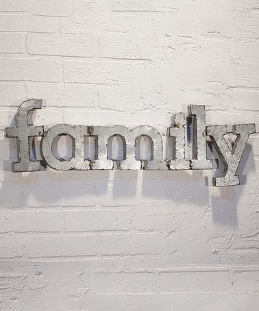 Another Great Find On Zulily Metal Family Wall Art Zulilyfinds