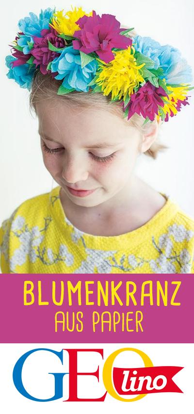 Photo of Blumenkranz aus Papier