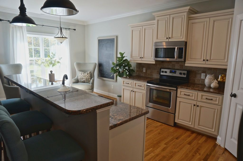 Traditional Kitchen Paint Is Magnetic Gray Sw 7058 Sherwin