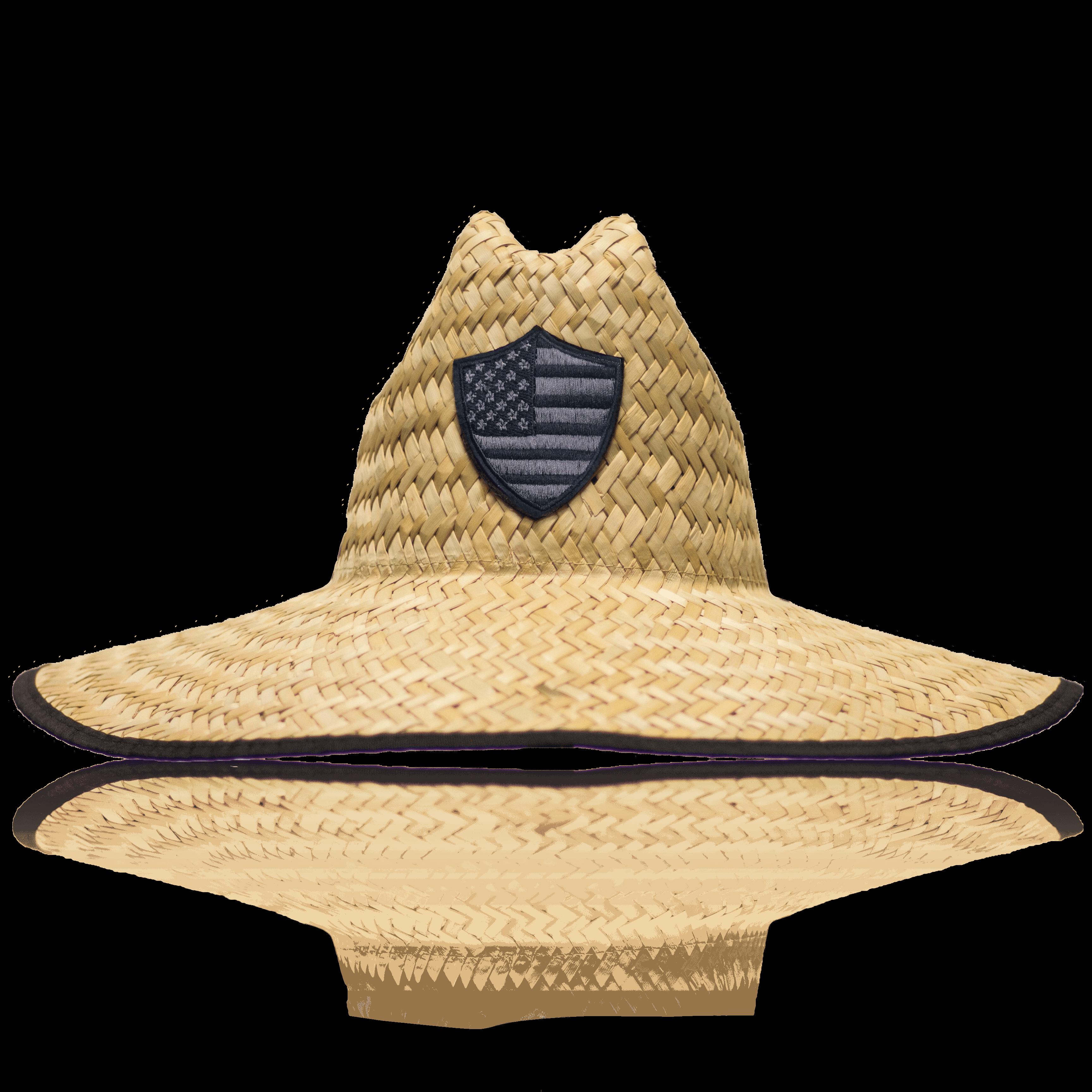 Straw Hat Blackout American Shield 1 Png 3 456 3 456 Pixels Hats For Men Ankle Strap Heels Straw Hat
