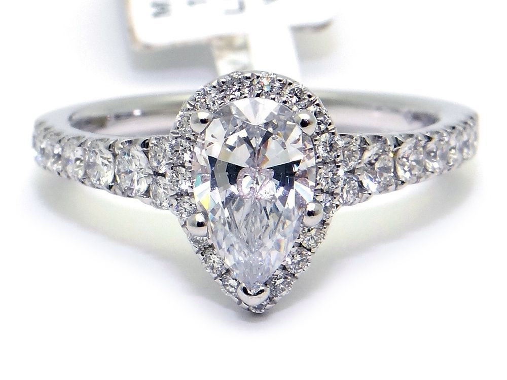 White gold diamond ring markings