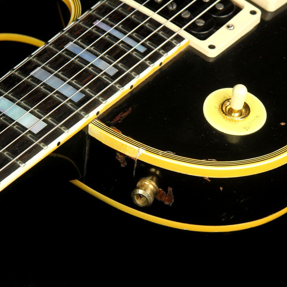 Used 2015 Gibson Custom Shop Peter Frampton Phenix 1954 Les Paul Custom Aged and Signed Electric Guitar Ebony