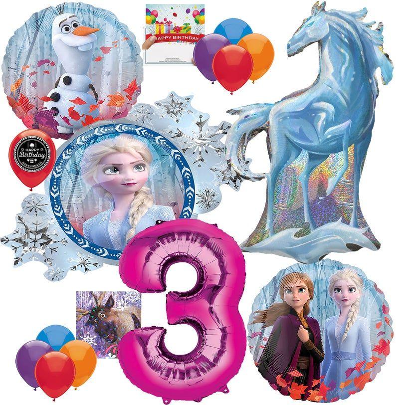 Frozen 2 Party Supplies Nokk the Water Spirit Deluxe Pink