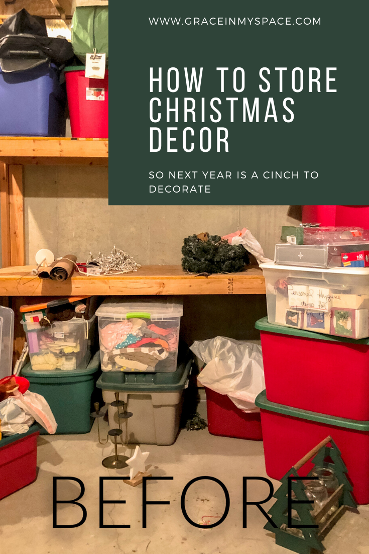 Organized Christmas 2020 7 Tips for Organized Christmas Decoration Storage in 2020 (With