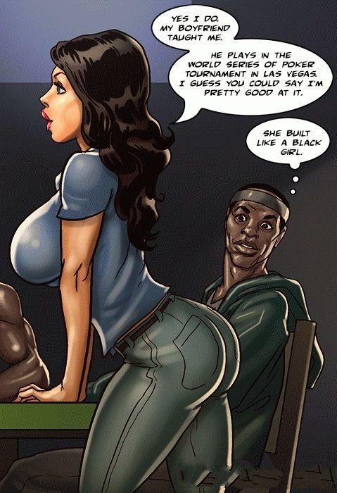 Bw Comics She Built Like A Black Girl Interracial Comics