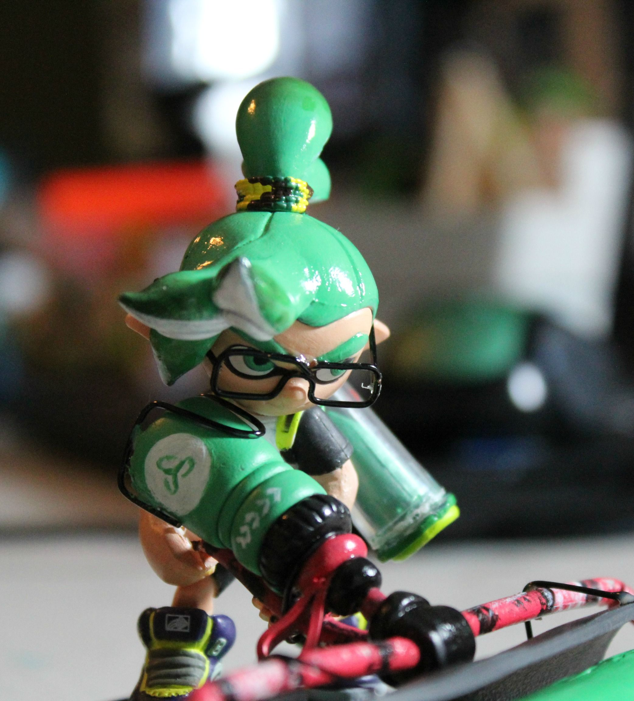 Heres An Original Hairstyle For A Custom Inkling Boy Inklings Splatoon Amiibo