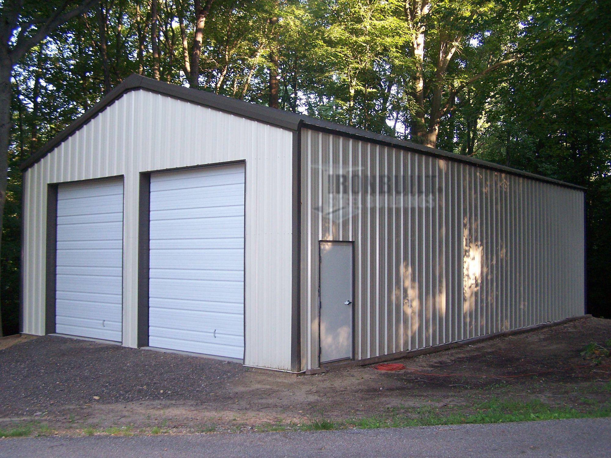 Strong Prefab Steel Garages Steel garage, Prefab metal