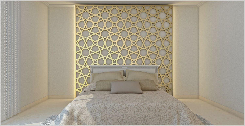 Bedroom Background Wall Design in 6  Bed design modern