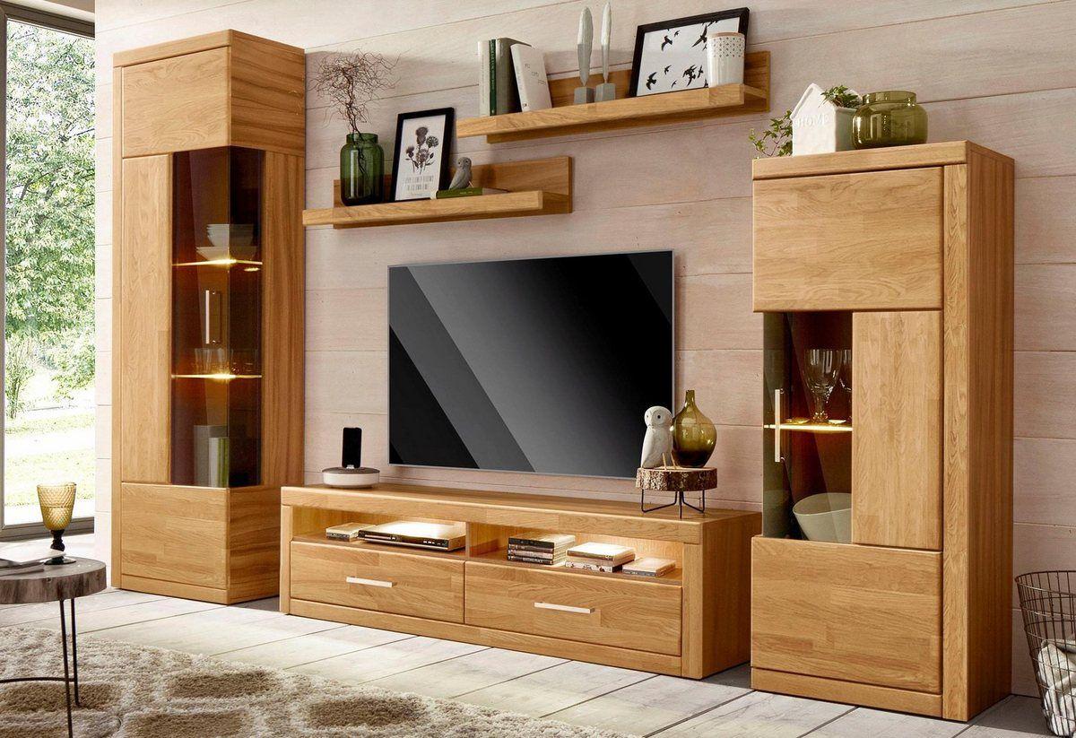 Wohnwand, (Set, 5tlg) in 2020 Haus deko, Wohnen und Haus