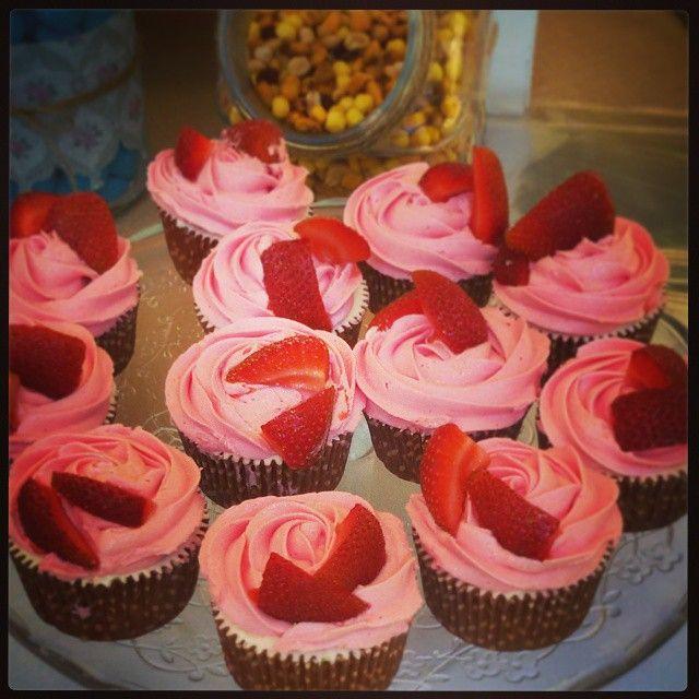 #Cupcakes de fresas al cava