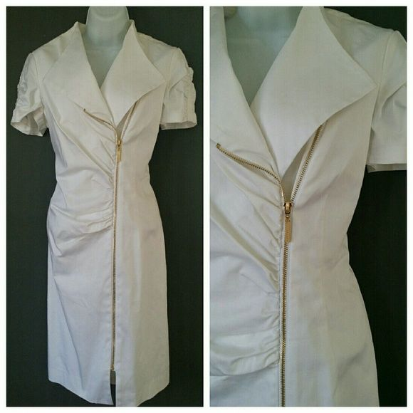 Ellen Tracy Vintage Madmen Style Dress Mint condition. Gold zipper. Very pinup feel. Ellen Tracy Dresses
