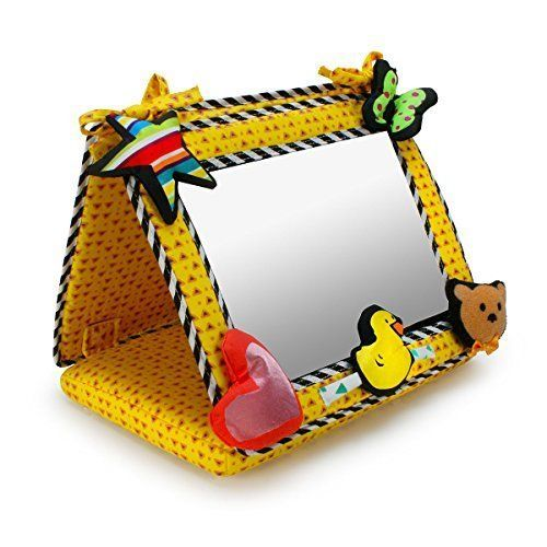 Genius Babies Smile, Baby! 2-in-1 Crib & Floor Mirror #GeniusBabies