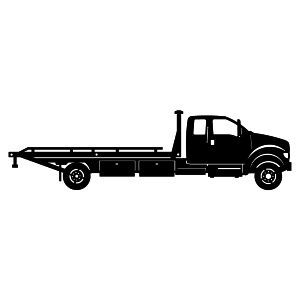 Tow Truck Clip Art Tow Truck 2 With Images Flatbed Towing
