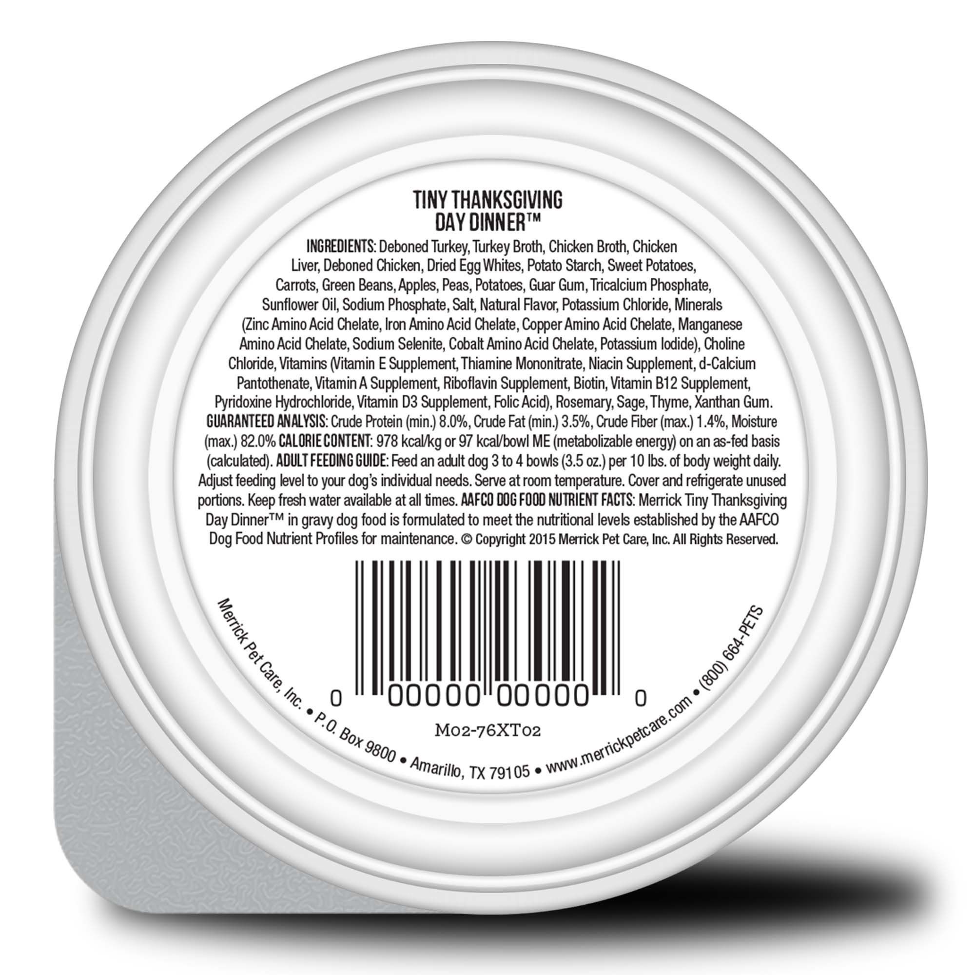 Merrick Lil Plates Grain Free Tiny Thanksgiving Day Dinner Small Breed Wet Dog Food 3 5 Oz Case Of 12 Cups 12 X 3 5 Oz Dog Food Recipes Wet Dog Food Organic Chicken