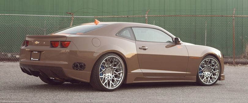 Modified Chevrolet Camaro Coupe with Vortech Supercharger