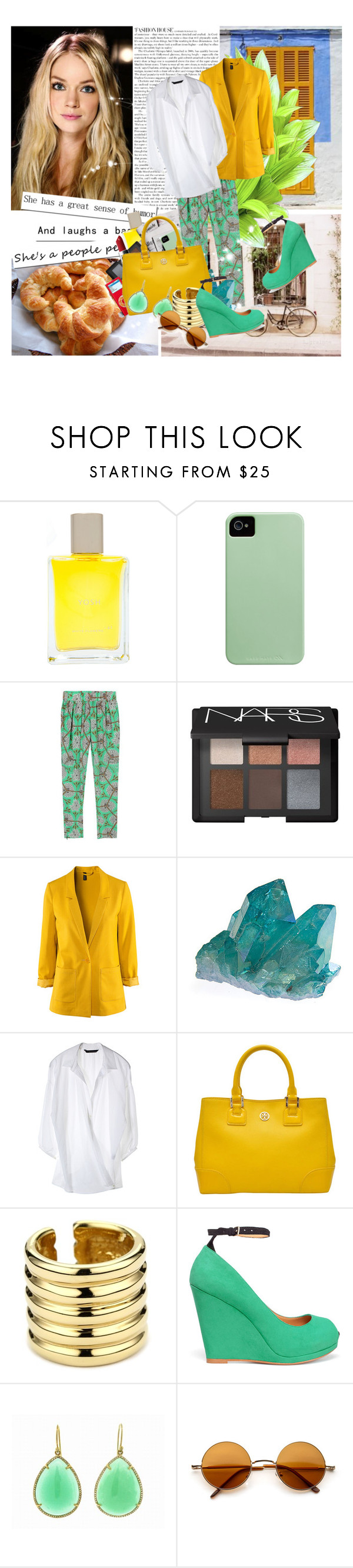 """""""Some people think it's wrong, being single isn't right. but you hurt the right person you'll be wrong all your life."""" by savemilkdrinkblood ❤ liked on Polyvore featuring Yosh, 7 For All Mankind, NARS Cosmetics, H&M, MAC Cosmetics, Tory Burch, Giuseppe Zanotti, Zara and Irene Neuwirth"""