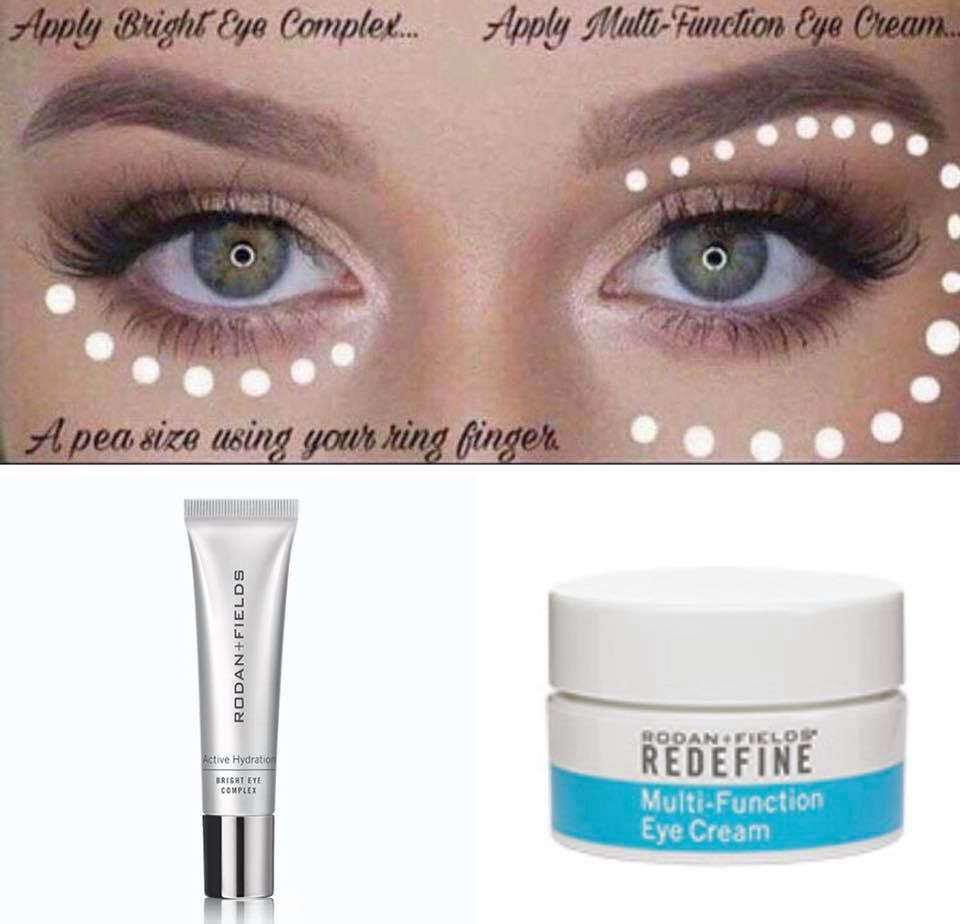Bright Eye Serum Reduces Under Eye Puffiness Darkness Multi